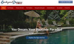 Website Design Clients Backyard Designs Unlimited