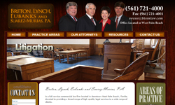Website Design Clients Breton, Lynch, Eubanks, Suarez Law Firm