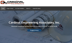 Website Design Clients Cardinal Engineering Associates