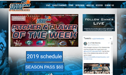 Website Design Clients The Collegiate League of the Palm Beaches