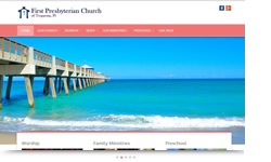 Website Design Clients First Presbyterian Church
