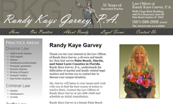 Website Design Clients Randy Kaye Garvey