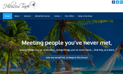 Website Design Clients Hibiscus Travel website design Jupiter