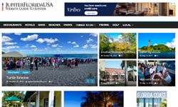 Website Design Clients JupiterFloridaUSA.com, Website Guide to Jupiter, Florida