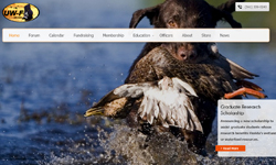 Website Design Clients United Waterfowlers Florida