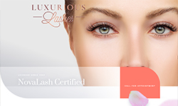 Website Design Clients LashesByPatty.com