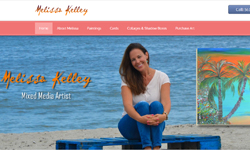 Website Design Clients MelissaKelleyArt.com